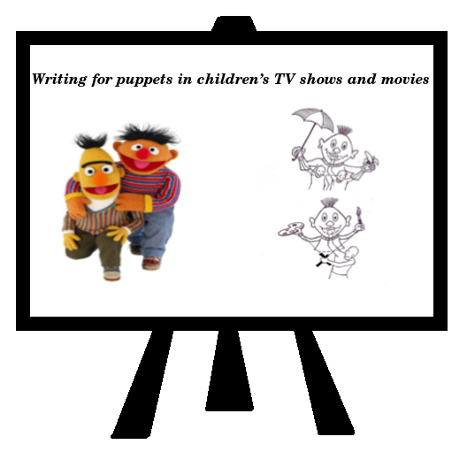 Writing for puppets in children's TV shows and movies