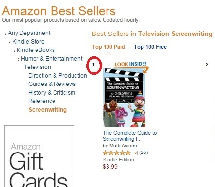 The Complete Guide to Screenwriting for Children Film & Television - Amazon Best Seller